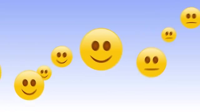 Happy Emojis: Stock Motion Graphics