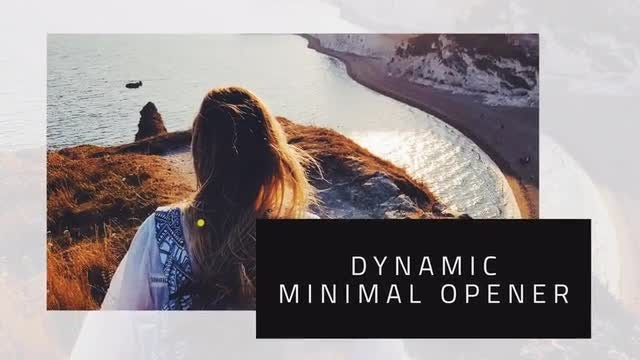 Dynamic Minimal Promo + Square Version: After Effects Templates