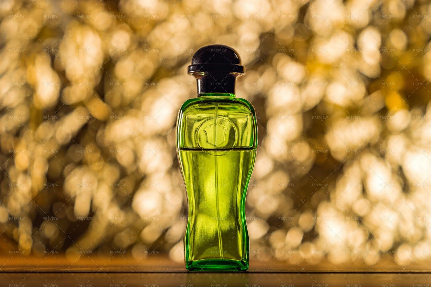 Bottle Of Fragrance Perfume: Stock Photos