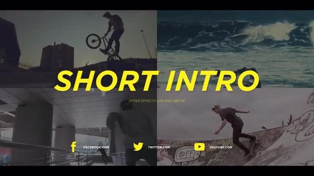 Short Intro: After Effects Templates