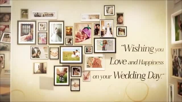 Wedding And Special Events Gallery: After Effects Templates