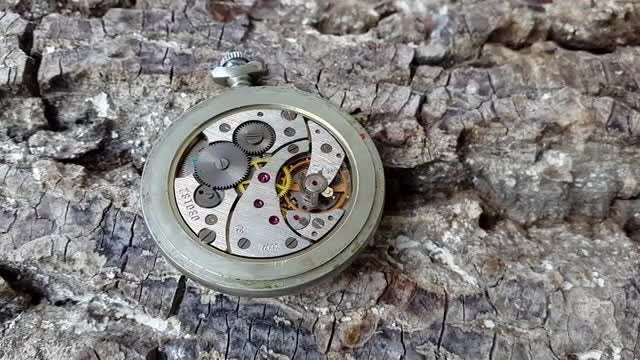 A Traditional Clock In Action: Stock Video
