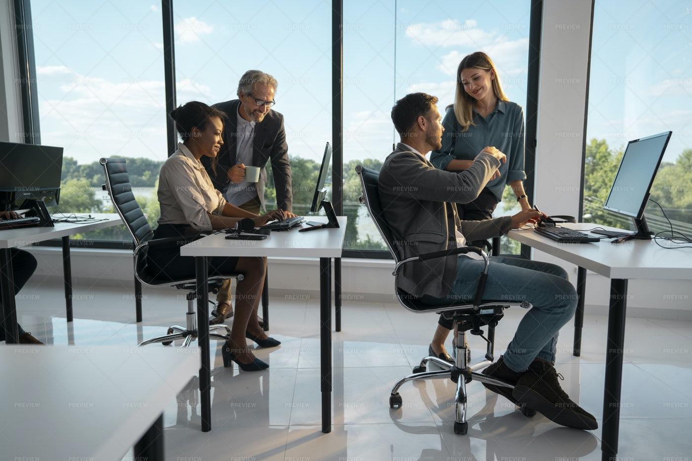 Business Office: Stock Photos