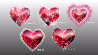 Wedding Heart: Stock Motion Graphics