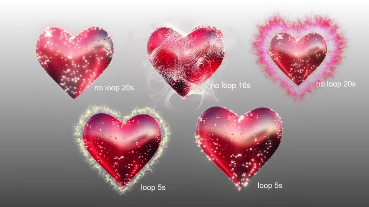 Wedding Heart: Stock Motion Graphics