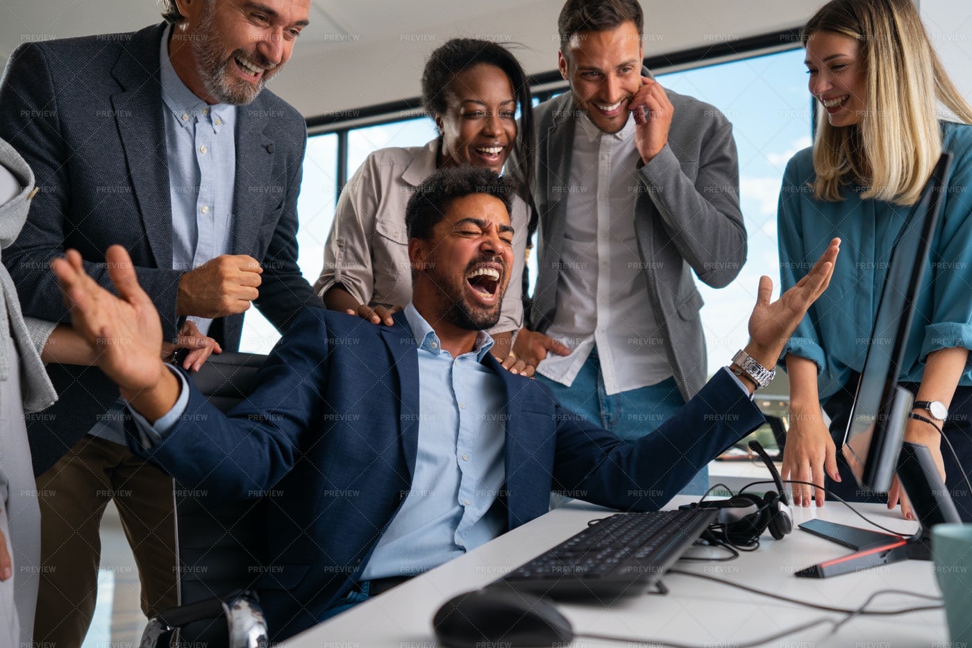 Successful Business People: Stock Photos