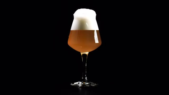 Unfiltered Craft Beer: Stock Video