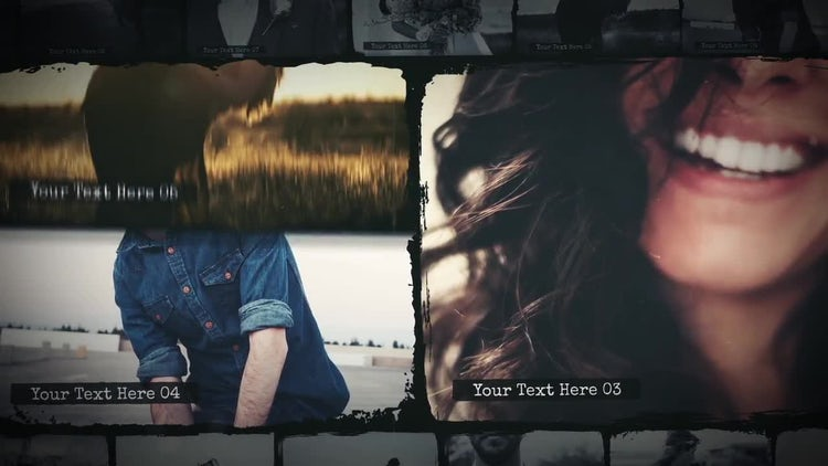 Emotion Slideshow: After Effects Templates