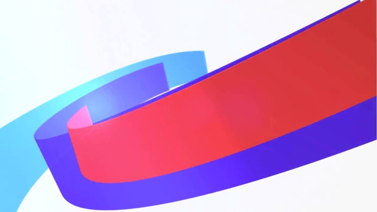 Ribbon Logo: After Effects Templates