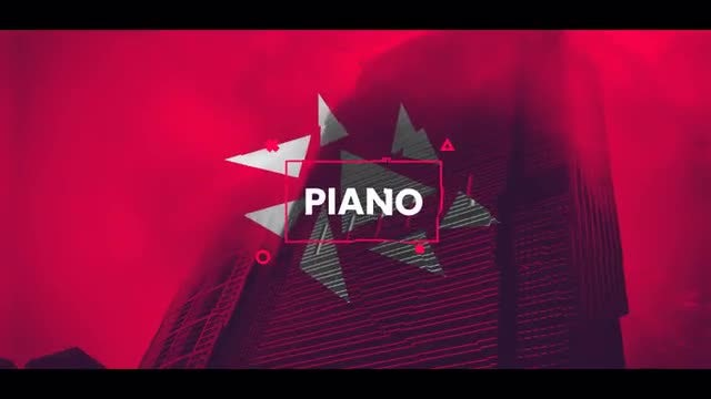 Fast Piano Logo: After Effects Templates