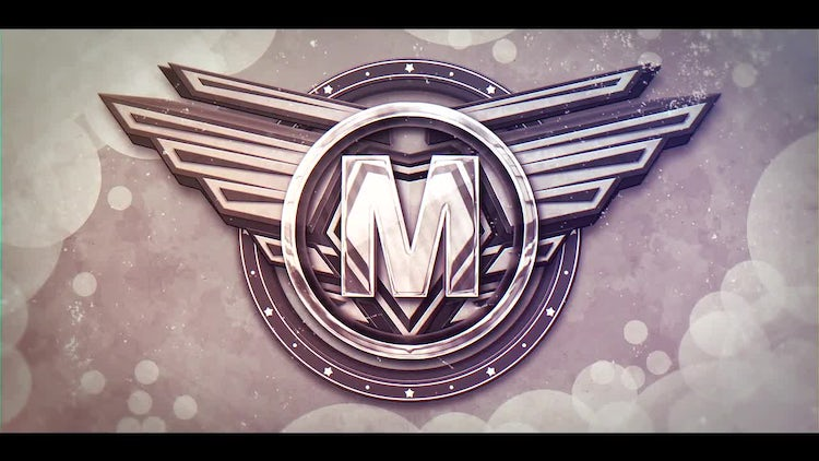 Draft  3D Wings Logo: After Effects Templates
