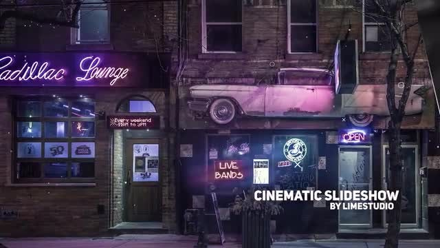 Cinematic Slideshow: Premiere Pro Templates