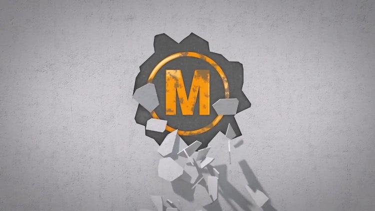 Broken Wall Logo: After Effects Templates