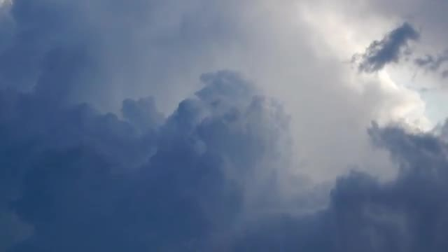 Blue Storm Clouds Formation : Stock Video