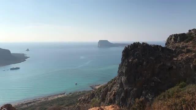Beach Of Balos, Crete Island, Greece: Stock Video