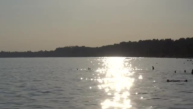 Reflection Of Sun In Water: Stock Video
