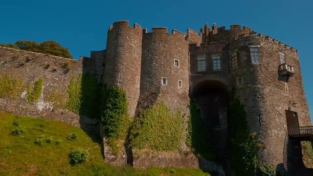 Dover Castle, England, UK: Stock Video