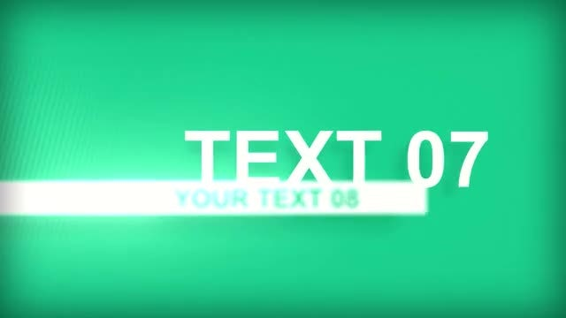 Type Cam: After Effects Templates
