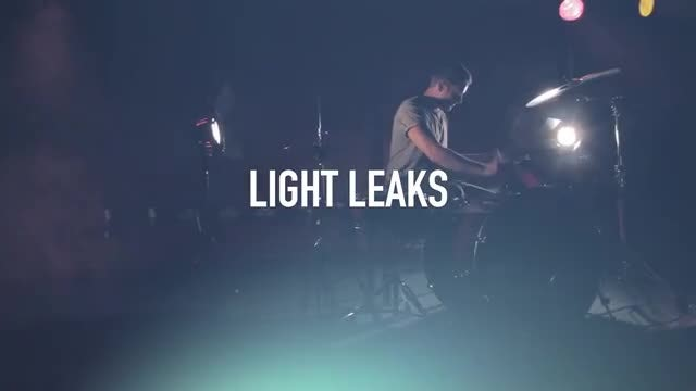 Light Leaks And Light Effects : Stock Video