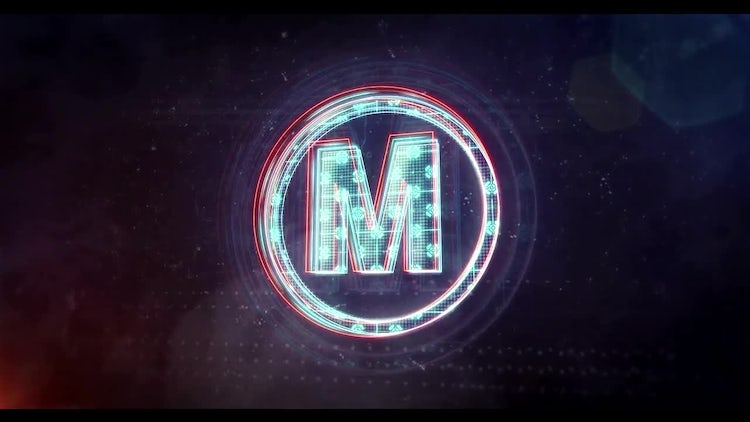 Glitch Neon Logo 2: After Effects Templates