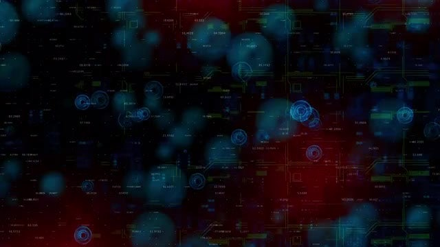 HUD 4K Background Loop: Stock Motion Graphics
