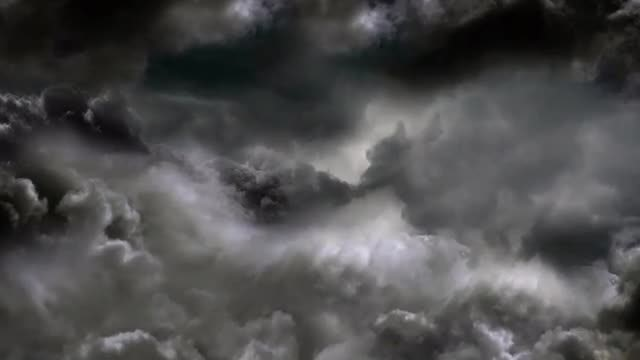 Night Sky Clouds: Stock Motion Graphics