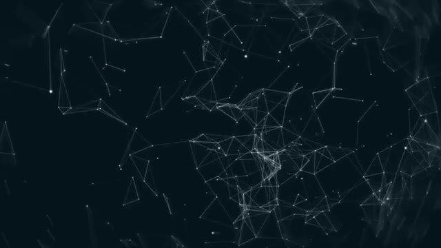 Plexus Cinematic  Background: Stock Motion Graphics