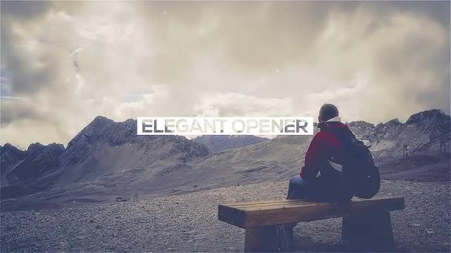 Elegant Opener: After Effects Templates