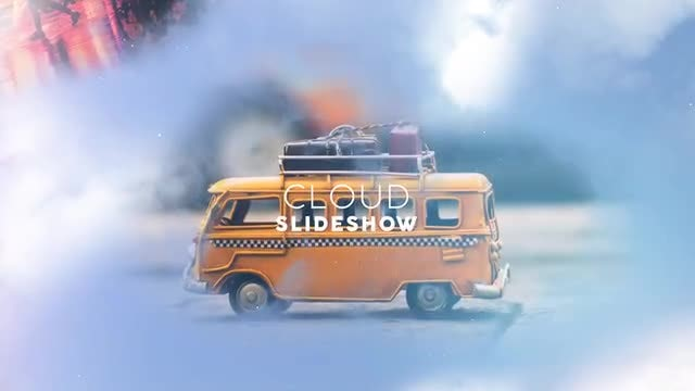 Cloud Slideshow: After Effects Templates