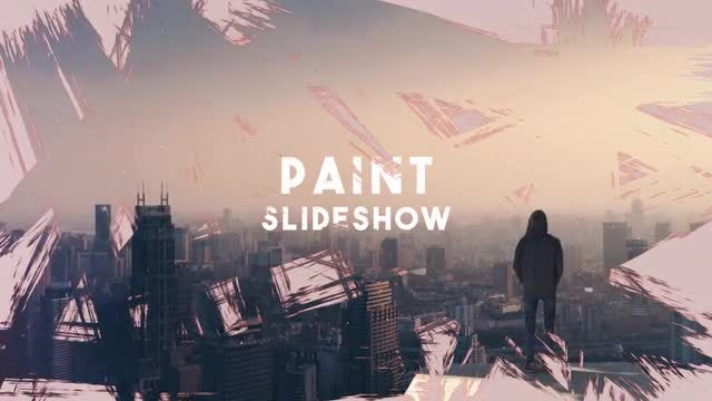 Paint Slideshow: After Effects Templates