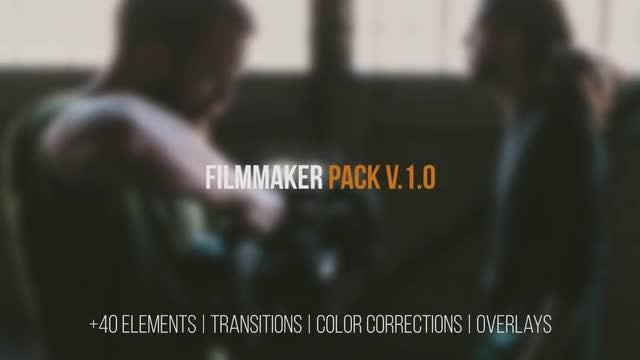 Film Maker Pack: 40+ Elements: Premiere Pro Presets
