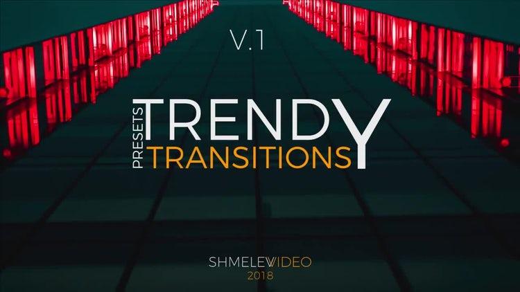Trendy Transitions V.1: Premiere Pro Presets