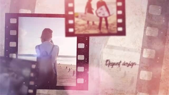 Film Strip Memories: Premiere Pro Templates