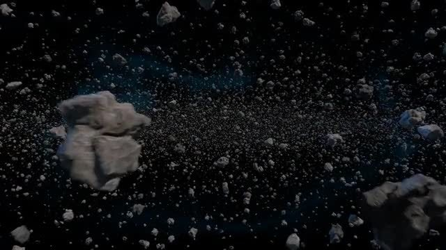 Asteroids: Stock Motion Graphics