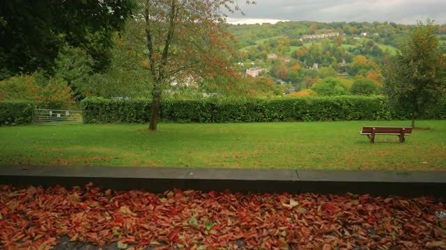 Beautiful View of Bath, England: Stock Video