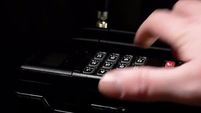 Retro Classic Style Cellphone : Stock Video