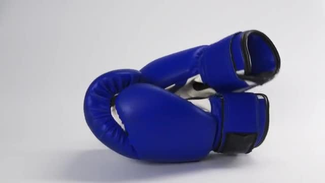Throw In The Boxing Gloves: Stock Video