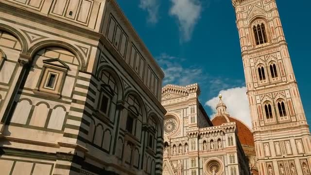 Renaissance Architecture In Florence: Stock Video