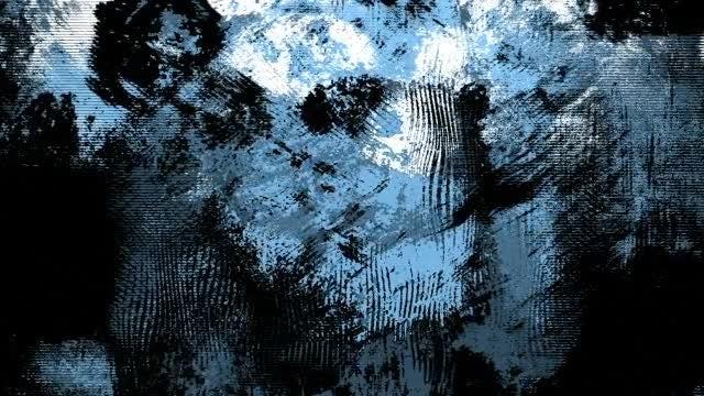 Blue-Black Liquid Grunge Pack: Stock Motion Graphics