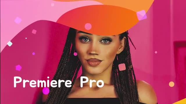 Modern Colorful Slideshow: Premiere Pro Templates