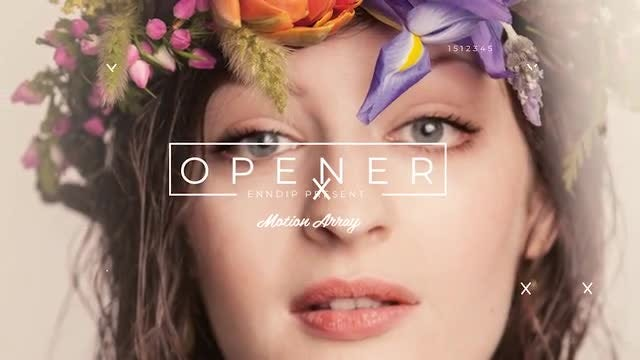 Fashion Opener  4k: After Effects Templates