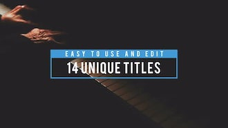 14 Amazing Titles: After Effects Templates