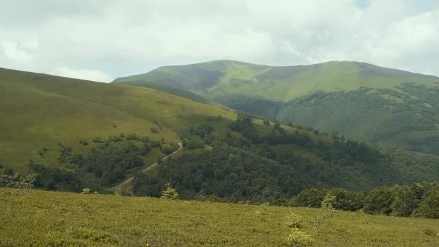 Beautiful Mountainous Landscape: Stock Video