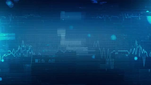 Line Graphs And Data Background: Stock Motion Graphics