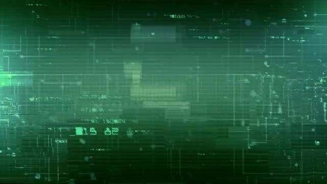 Digital Data Glitch Background: Stock Motion Graphics