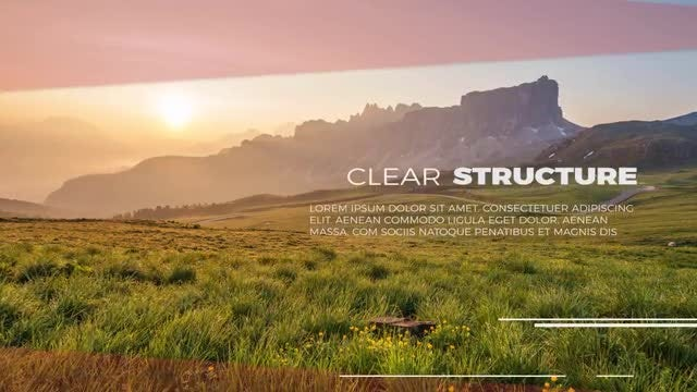 Minimal Clean Slideshow : Premiere Pro Templates