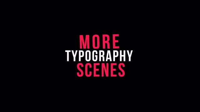 Stylish Kinetic Typography: Motion Graphics Templates