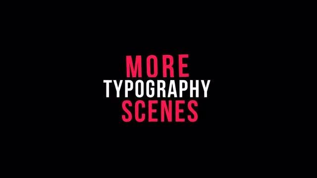 Stylish Kinetic Typography: Motion Graphics Templates