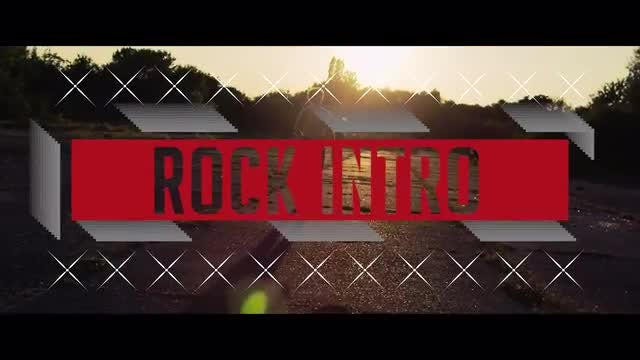 Rock Intro: Premiere Pro Templates