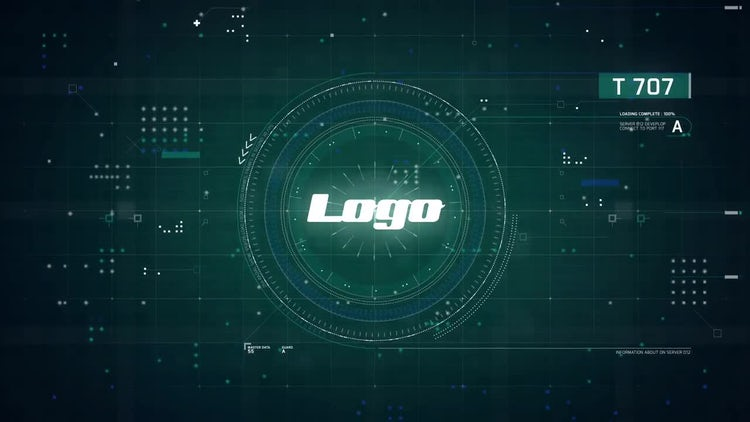 Electronic Logo Opener: After Effects Templates
